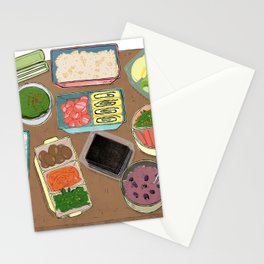 Lunch Box Memories Stationery Cards
