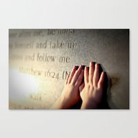verse Canvas Prints featuring Verse by Aubree42