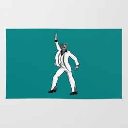 Saturday Night Cyberman Rug