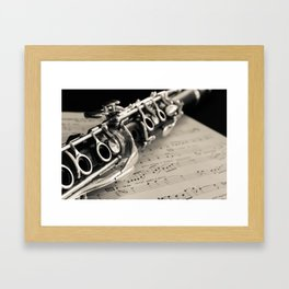Clarinet Framed Art Print