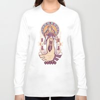 nouveau Long Sleeve T-shirts featuring Zelda Nouveau by Megan Lara