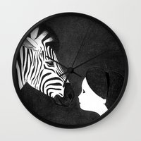 mirror Wall Clocks featuring Mirror by Sylphing