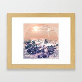 Astronaut Returns II Framed Art Print