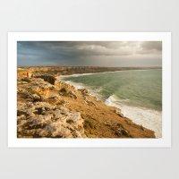 Moroccan coastline Art Print