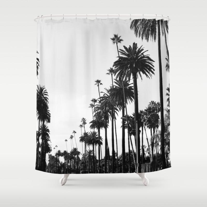 Palm shower curtain - Palm Shower Curtain 59