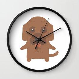Bloodhound Gift Idea Wall Clock