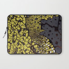 (I Want To Live On An) Abstract Plain Laptop Sleeve
