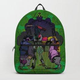 "Ars Tarot of the 12 Zodiac: ""Capricorn - Devil"" Backpack"