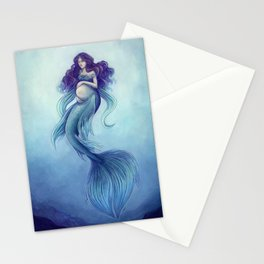 Mermaid Mothersday Stationery Cards