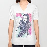daria V-neck T-shirts featuring daria by Andon Georgiev