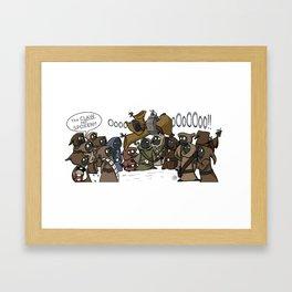 The Claw!!!! Framed Art Print