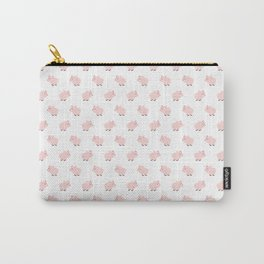 Pig Pattern | Pink Piglet Farm Farmer Carry-All Pouch