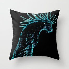 Deer god Throw Pillow
