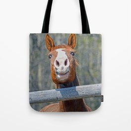 Horse Humour Tote Bag