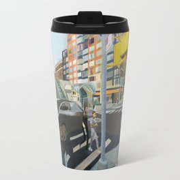 Curvilinear 95TH Travel Mug