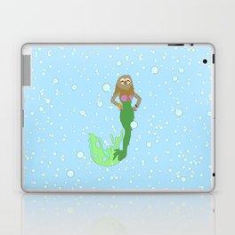 Sloth Mermaid Laptop & iPad Skin