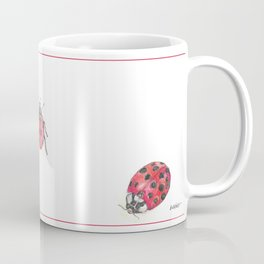 Ladybirds (aka Ladybugs) Coffee Mug