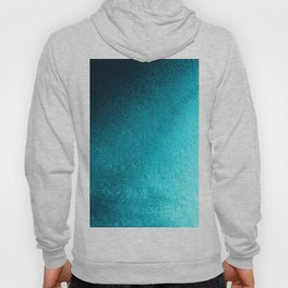 Modern abstract navy blue teal gradient Hoody