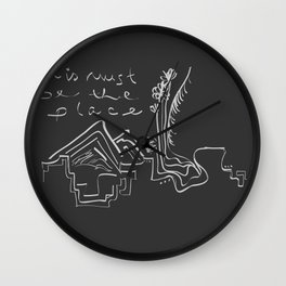 This Must Be the Place Wall Clock