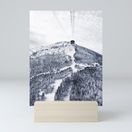 Vermont Ski Slopes Mini Art Print