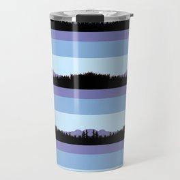 Abstract mountains horizons 2 Travel Mug