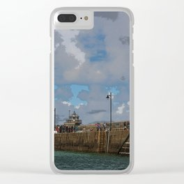 Lighthouse at St Ives, Cornwall, England Clear iPhone Case