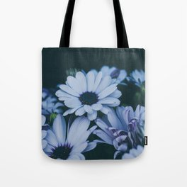 Flower Photography by Echo Grid Tote Bag
