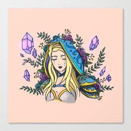 Maiden of Ice Canvas Print