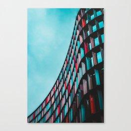 Architecture Live In Color Canvas Print