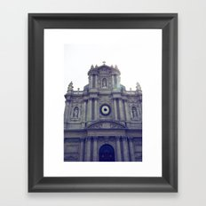 Eglise Saint Paul, Le Marais, Paris Framed Art Print