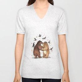Bear Dance Unisex V-Neck