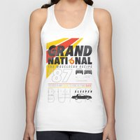 the national Tank Tops featuring Grand National by CynthiaLeduc