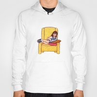 roald dahl Hoodies featuring Reading fictional characters: Matilda by Susanne