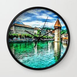 Lucerne Wall Clock