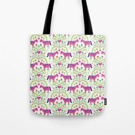 Donkey Love (Bright) Tote Bag