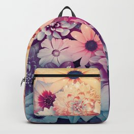 Hipster Flowers Backpack