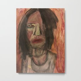 The Hungry Eyes Metal Print