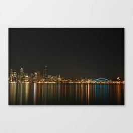 Beautiful Skyline of Seattle Canvas Print