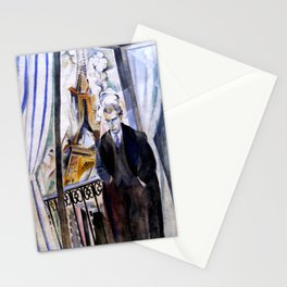 "Robert Delaunay ""Le Poète Philippe Soupault"" Stationery Cards"