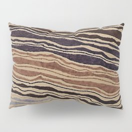 Earth Waves Pillow Sham