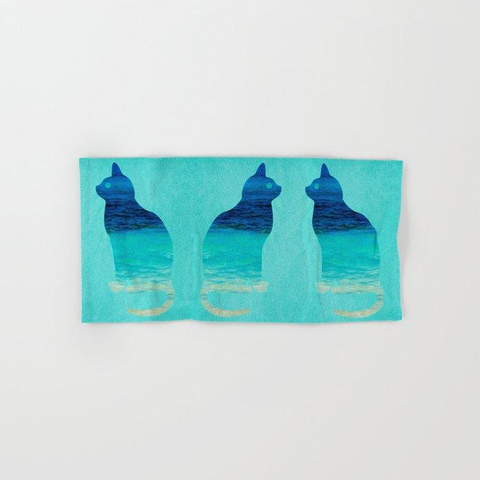 SEA CAT Hand & Bath Towel