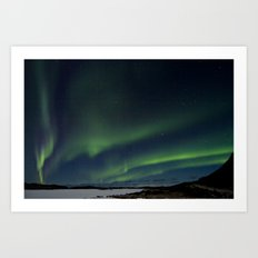 Northern Lightning Art Print