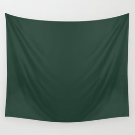 Celebration in Red ~ Forest Green Wall Tapestry