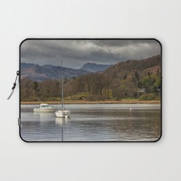 Windermere lakes and boats landscape Laptop Sleeve