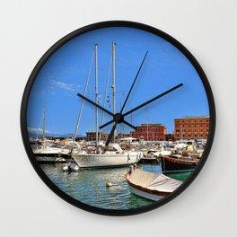 Seaside Wall Clock