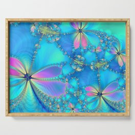 The Fluttering Serving Tray