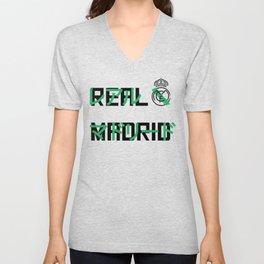 Real Madrid Japanese Unisex V-Neck