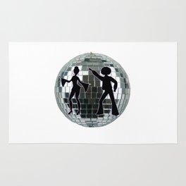 Disco Mirror Ball Rug