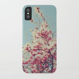 Retro Blossoms iPhone Case