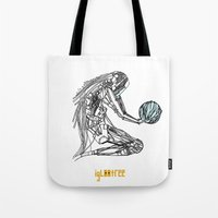 odd future Tote Bags featuring Future by iglootree